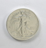 196.    1945-S  Walking Liberty Half Dollar