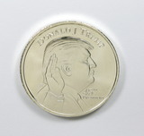 "209.    1 Oz.  Silver Rd. ""Donald Trump/White House"""