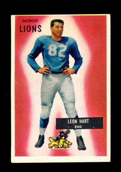 1955 Bowman Football Card #19 Leon Hart Detroit Lions