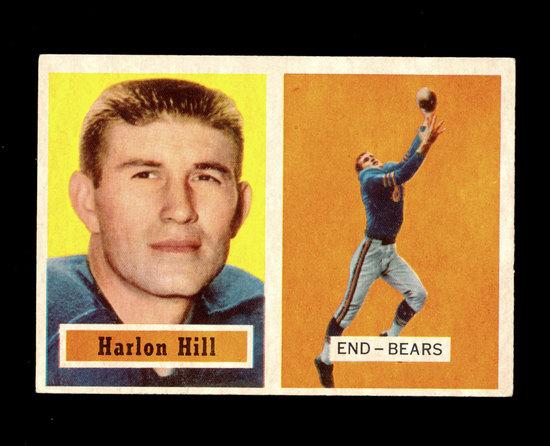 1957 Topps Football Card #67 Harlon  Hill Chicago Bears