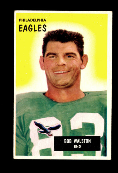1955 Bowman Football Card #13 Robert Walston Philadelphia Eagles