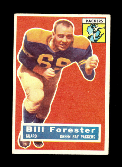1956 Topps Football Card #79 George Forester Green Bay Packers