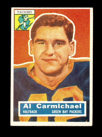 1956 Topps Football Card #115 Albert Carmichael Green Bay Packers