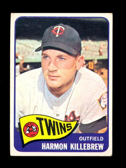 1965 Topps Baseball Card #400 Hall of Famer Harmon Killebrew Minnesota Twin