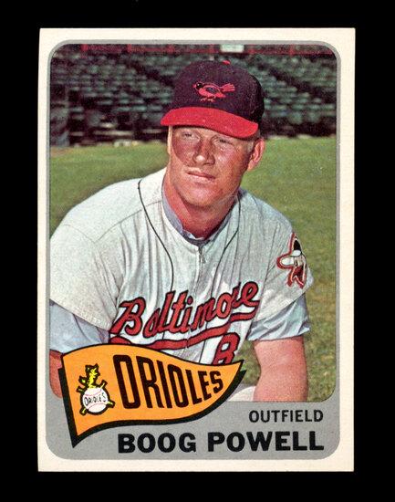 1965 Topps Baseball Card #560 Boog Powell Baltimore Orioles