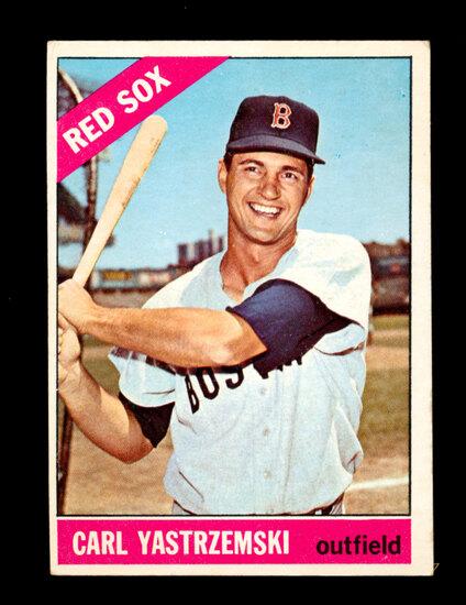 1966 Topps Baseball Card #70 Hall of Famer Boston Red Sox