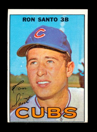 1967 Topps Baseball Card #70 Hall of Famer Ron Santo Chicago Cubs