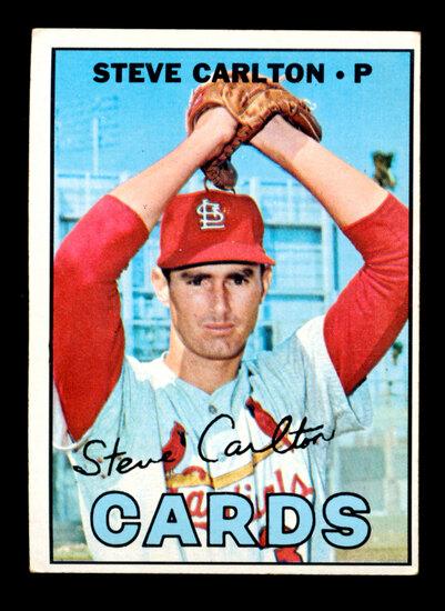 1967 Topps Baseball Card #146 Hall of Famer Steve Carlton St Louis Cardinal