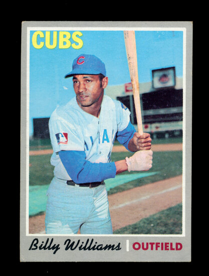 1970 Topps Baseball Card #170 Hall of Famer Billy Williams Chicago Cubs