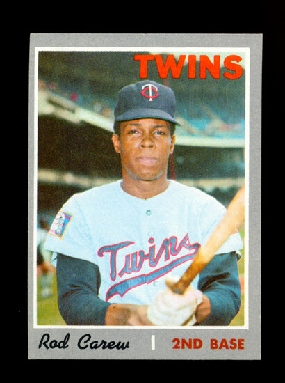 1970 Topps Baseball Card #290 Hall of Famer Rod Carew Minnesota Twins