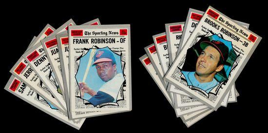 (12) 1970 Topps Baseball Cards (All Stars)