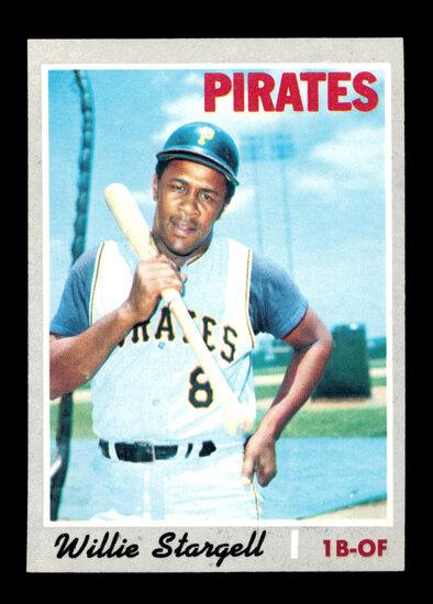 1970 Topps Baseball Card #470 Hall of Famer Willie Stargell Pittsburgh Pira