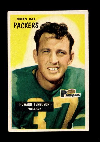 1955 Bowman Football Card #57 Howard Ferguson Green Bay Packers