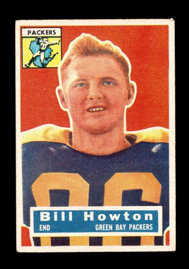 1956 Topps Football Card #19 Bill Howton Green Bay Packers