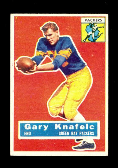 1956 Topps Football Card #43 Gary Knafelc Green Bay Packers