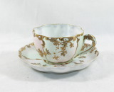 Vintage, very Delicate Porcelain Cup and Saucer.