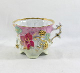 Very Delicate Porcelain/Ceramic Footed Cup.