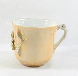 Vintage Porcelain/Ceramic Flowered Mug. Marking on Bottom.
