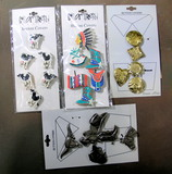 4 Newer Button Covers on Cards