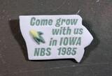 1985 Iowa National Button Society Porcelain Button