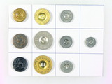 10 Miscellaneous Military Buttons