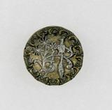 Antique .88 Inch Dia. Metal Button