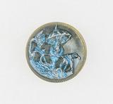 Antique .9 Inch Dia. Metal Button