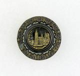 Antique 1 Inch Dia. Metal Button