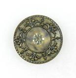 Antique 1.26 Inch Dia. Metal Button