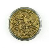 Antique 1.35 Inch Dia. Metal Button