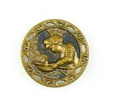 Antique 1.34 Inch Dia. Metal Button