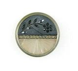 Antique 1.13 Inch Dia. Metal Button