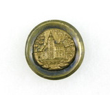Antique 1.22 Inch Dia. Metal Button