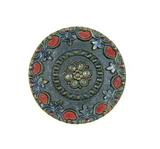Antique 1.28 Inch Dia. Metal Button