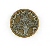 Antique 1.25 Inch Dia. Metal Button