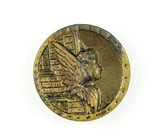 Antique 1.23 Inch Dia. Metal Button