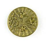 Antique 1.36 Inch Dia. Metal Button