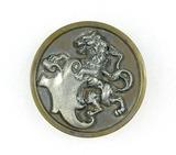 Antique 1.42 Inch Dia. Metal Button
