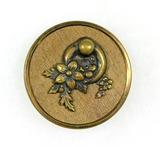 Antique 1.47 Inch Dia. Metal Button