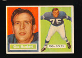 1957 Topps Football Card #5 Hall of Famer Gino Marchetti Baltiore Colts
