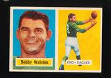 1957 Topps Football Card #61 Bobby Walston Philadelphia Eagles