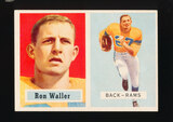 1957 Topps Football Card #82 Ron Waller Los Angeles Rams