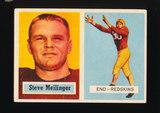1957 Topps Football Card #89 Steve Meilinger Washington Redskins