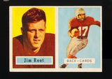1957 Topps Football Card #112 James Root Chicago Cardinals