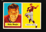 1957 Topps Football Card #116 Dicky Moegle San Francisco 49ers