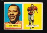 1957 Topps Football Card #129 Hall of Famer Joe Perry San Francisco 49ers