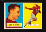 1957 Topps Football Card #139 James Ridlon San Francisco 49ers
