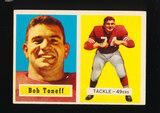 1957 Topps Football Card #148 Bob Toneff San Francisco 49ers