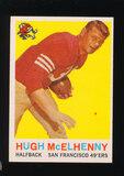1959 Topps Football Card #5 Hall of Famer Hugh McElhenny San Francisco 49er