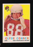 1959 Topps Football Card #27 Clyde Conner San Francisco 49ers